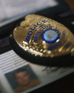 Detective's Badge and ID