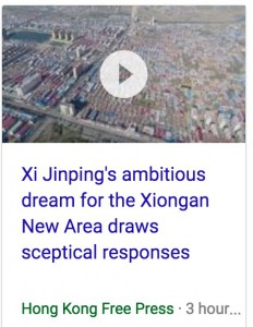 Xi Jinping's ambitious dream for the Xiongan New Area draws sceptical responses