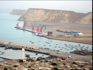 China-operated Gwadar Port in southern Pakistan